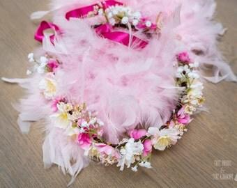 (Wedding accessory) made wreath hand