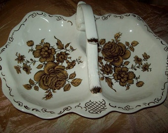 Vintage Wisen porcelain serving dish
