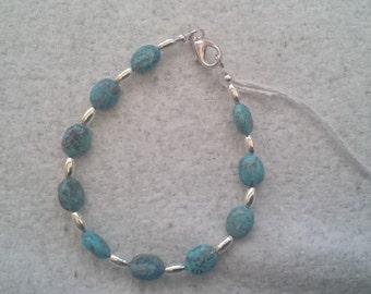 Fox Turquoise Bracelet