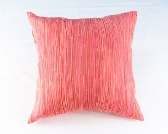 18-inch square pleated cushion cover