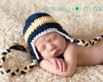 Baby Boy Hat, Toddler Hat for Boy, Crochet Baby Hat, Winter Hat, Newborn Hat, Newborn Photo Prop, Baby Shower Gift, Baby Hat, Baby Boy