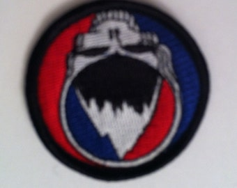 Grateful Dead Steal Your Face Ski / Snowboard embroidered sew on patch
