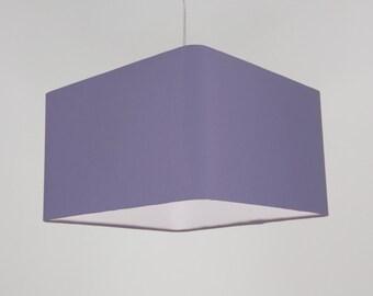 Lampshade 'Square Lilac 30'