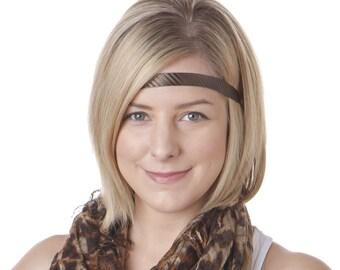 Hipsy Skinny ULTRAHOLD Tech Sport Adjustable Headbands For Women