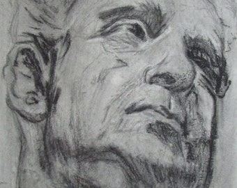 Head study - Copy of old master drawing