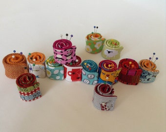 pin roll mini pin cushions