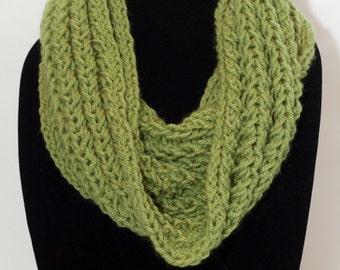 Knit Infinity/Cowl Scarf