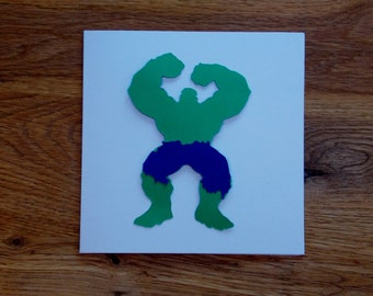 Hulk - Marvel - The Avengers - Greetings Card