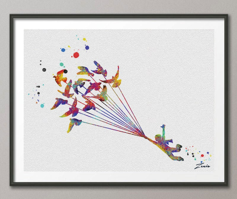 The Little Prince Le Petit Prince Print Wedding Gift by