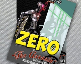 Zer0 Poster //Borderlands 2// Digital File Instant Download