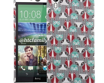 HTC Desire Eye Case, Look Me Not TPU Silicone Skin Phone Case Cover