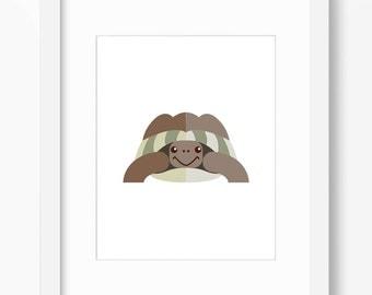 Turtle Print, Turtle Art, Nursery Art, Nursery Print, Nursery Turtle Print, Nursery Turtle Art, Kids Turtle Art, Kids Turtle Print, Turtles