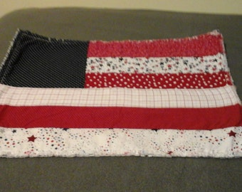 American  Flag  place mats