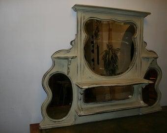 Beautiful Shabby Chic Hall Mirror