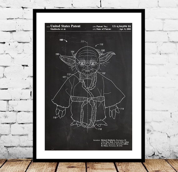 Yoda Posters Wall Decor 42