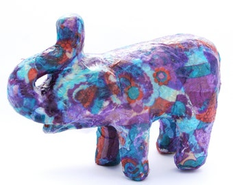 FREE P&P in UK. Craft Kit for Kids: Decoupage Papier-mache Elephant Kit. Age 8+. Kids. Art and Craft Kit. Everything included for project