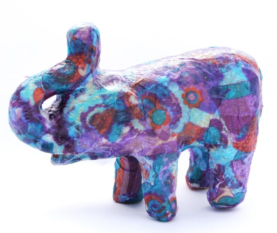 Craft kit for kids decoupage papier mache by for Paper mache art and craft