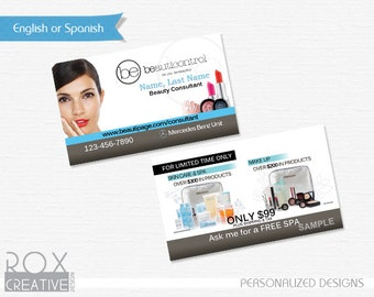 BeautiControl Business Cards Digital Design – Customized/ Just print them