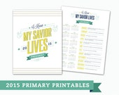 2015 Primary Presidency Printables