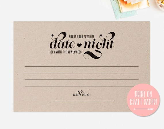 Search results for free wedding gift card templates for Date night gift certificate templates