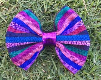 Mexican Bow on Hair Clip, Cinco de Mayo, Fiesta