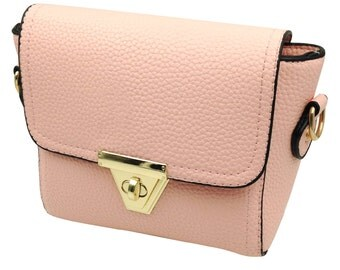 Love sweet have small grain leather handbag