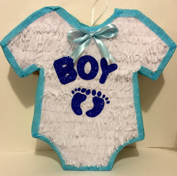 baby shower pinata boy onesie by theperfectpinata on etsy