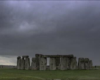 24x36 Poster; Stonehenge 2007
