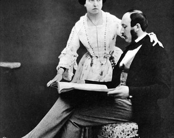 24x36 Poster; Queen Victoria And Prince Albert, 1854