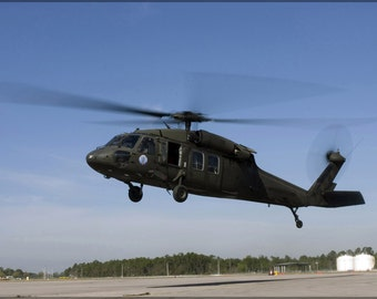 24x36 Poster; Uh-60 Black Hawk Helicopter Gulfport Miss