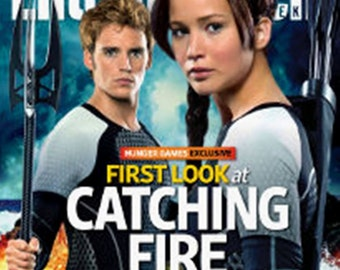 CATCHING FIRE  Entertainment Weekly collectors cover  no labels new condition