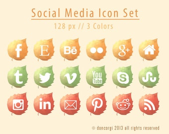 how to add social media icons in bootstrap