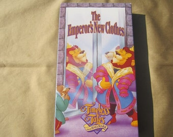 Timeless Tales From Hallmark: The Emperor's New Clothes-1990 VHS movie