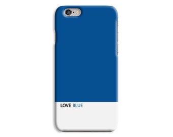 Love Blue Multicolour Bright Design Cell Mobile Phone Hard Case \ hc-co005