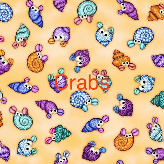 Under the sea fabrics blank quilting by kesslerkreationsshop for Children of the sea fabric