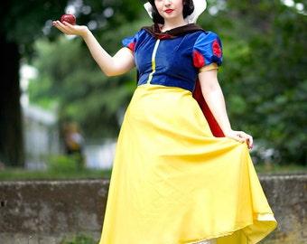 Disney Snow White Costume Cosplay