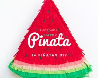 EBook: Happy piñata - 14 pinatas DIY