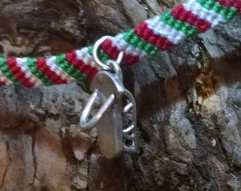 Holly: Collectible fairy friendship bracelet with charm