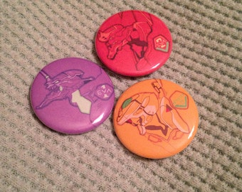 NGE Eva Button set