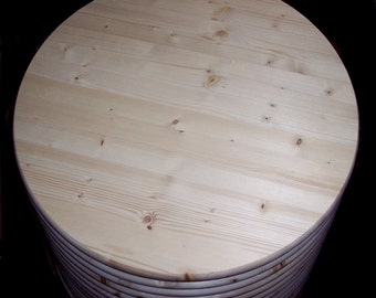 """Allwood 1"""" x 48 inch Furniture Grade round table top"""