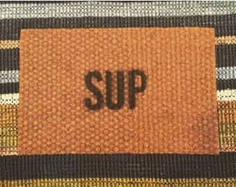 Sup Homemade Doormat