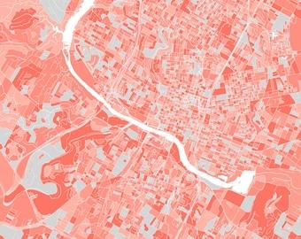 Austin, Texas Block Map