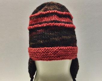 Handknit Child Hat