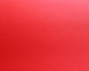 VINYL FABRIC, Red upholstery Vinyl, Use For Upholstery, Chairs, wall covering, Table Cloth,Kitchen Seats, 54""