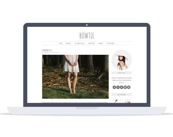 Bowtie - Wordpress Theme - Premade - Self Hosted - Wordpress Blog Theme - Responsive