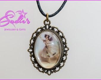 Gorgeous dancing Fairy pendant