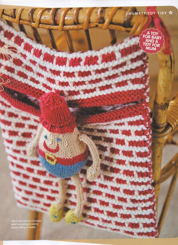 Knitting Pattern For Humpty Dumpty : humpty dumpty bag toy dk knitting pattern 99p