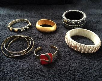 Vintage bracelet repair lot