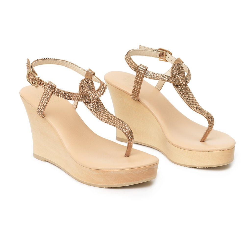 Wedge Sandals For Beach Wedding