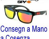 Occhiale da sole Spy+ Ken Block Uomo Donna Lenti Nere Design Verdi Blu Azzurri Rosso Arancioni Sportivi Sport Cosenza